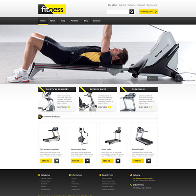 Training Equipment WooCommerce Theme (WooCommerce theme for sports, gym, and fitness stores) Item Picture