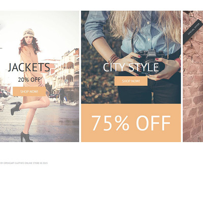 Zizi OpenCart Template (OpenCart theme for clothing stores) Item Picture