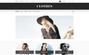 best opencart themes clothing stores feature