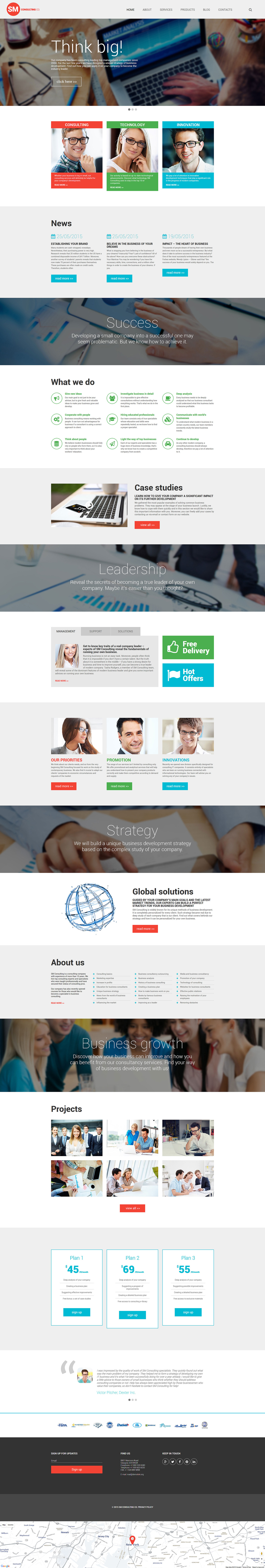 Consulting Co WordPress Theme (stunning WordPress theme) Item Picture