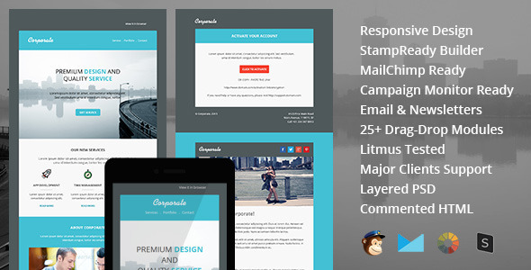 Stunning Email Templates For Campaign Monitor Buildify - Campaign monitor html templates