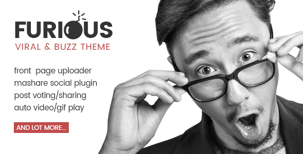 Furious (viral WordPress theme with frontend submission) Item Picture