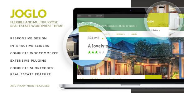 Joglo (real-estate WordPress theme) Item Picture