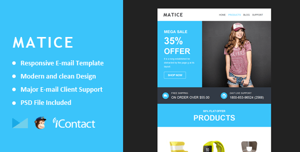 Matice (email template) Item Picture