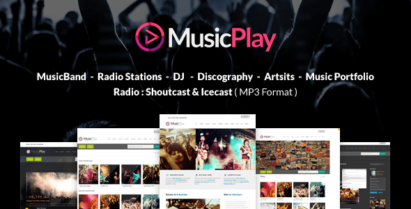 MusicPlay (WordPress theme for radio stations) Item Picture