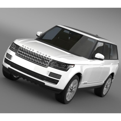 Range Rover Vogue TDV6 L405 (3D model of a car, vehicle, or automobile) Item Picture