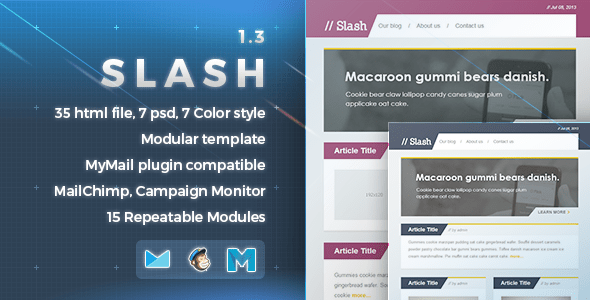 Slash (email template) Item Picture