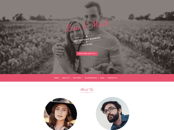 Wedding Bride (WordPress theme) Item Picture