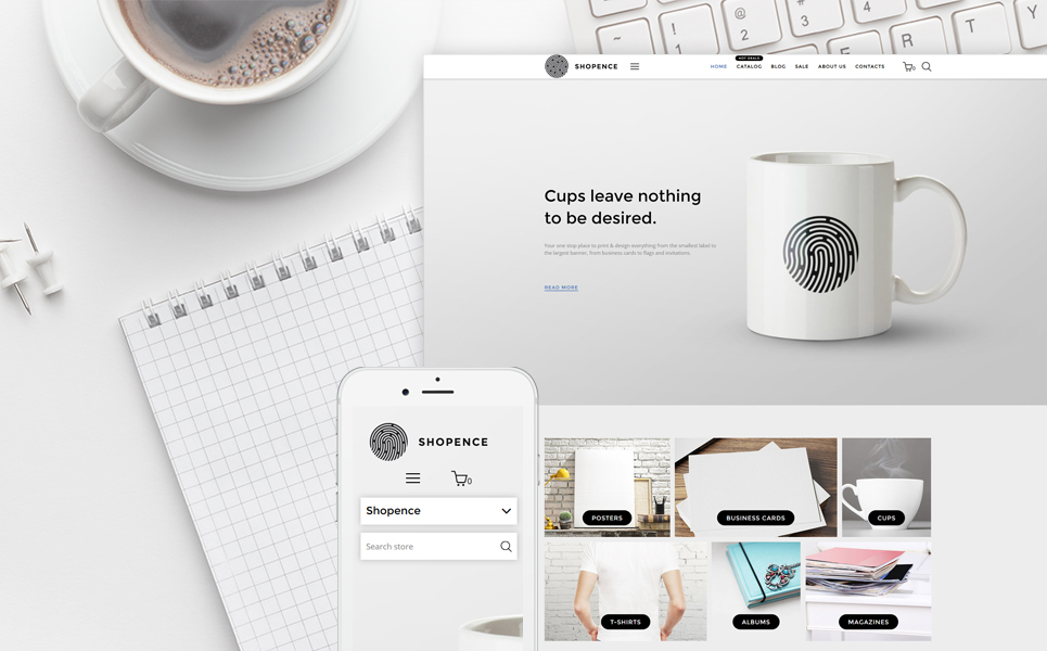 Shopence (ecommerce theme) Item Picture