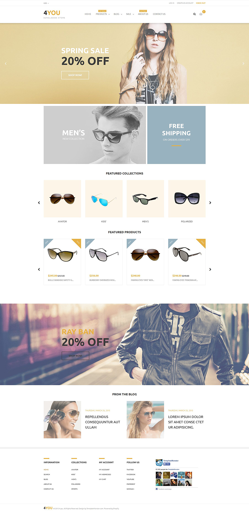 4You Shopify Theme (jewelry and accessories Shopify theme) Item Picture