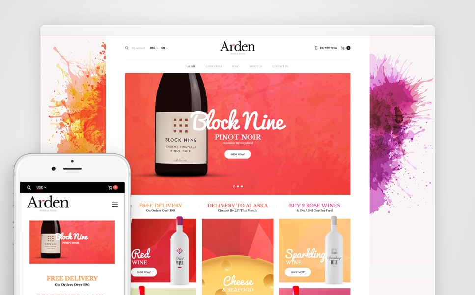 Arden (template for WooCommerce) Item Picture