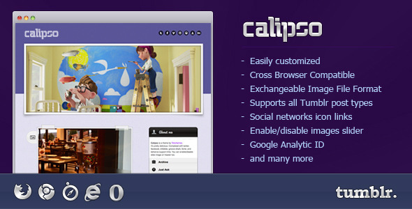 Calipso (Tumblr theme) Item Picture