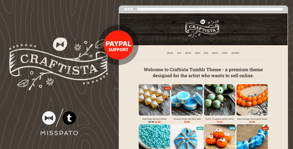 Craftista (Tumblr theme) Item Picture