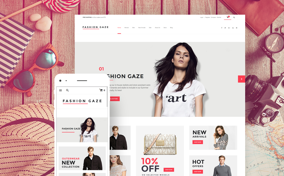 Fashion Gaze (template for WooCommerce) Item Picture