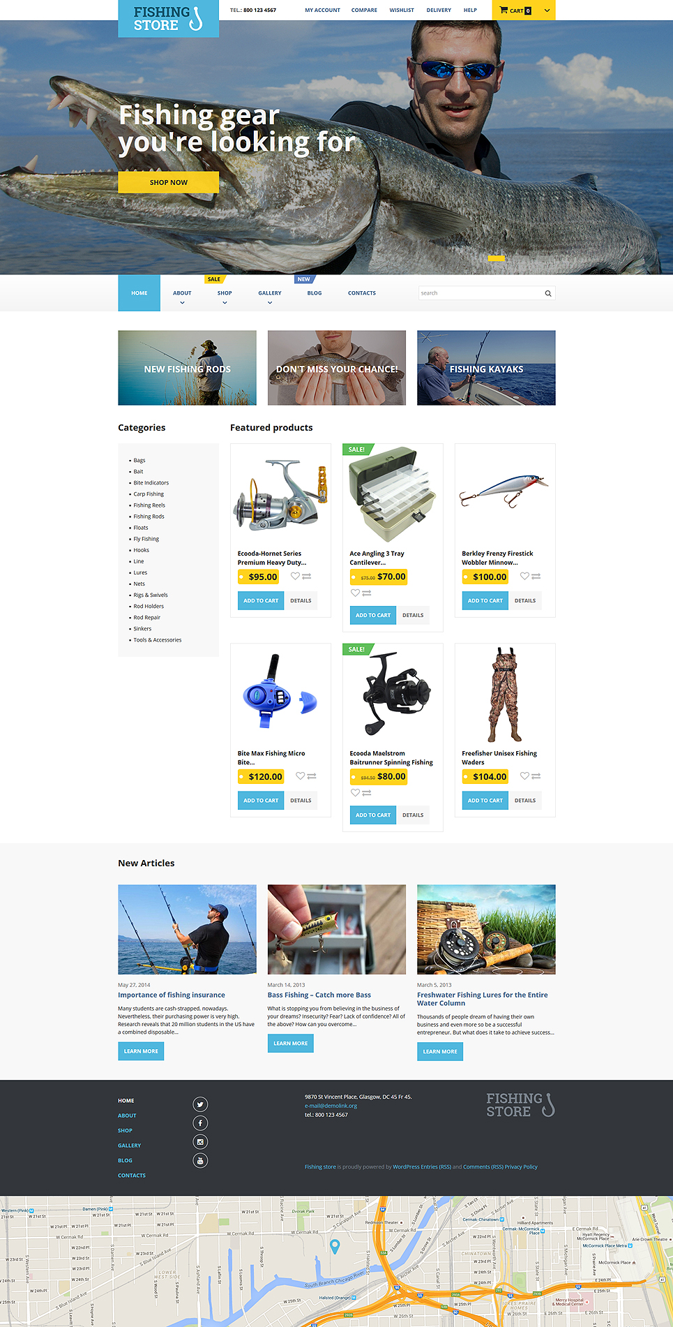 Fishing Store (template for WooCommerce) Item Picture