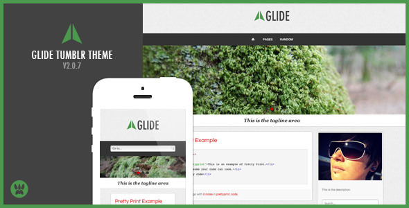 Glide (Tumblr theme) Item Picture