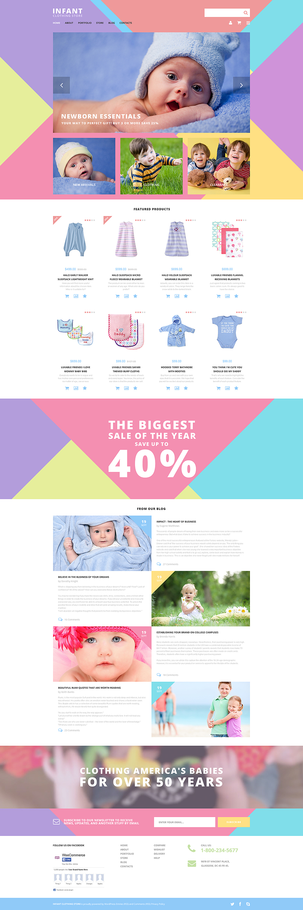 Infant Clothing Store