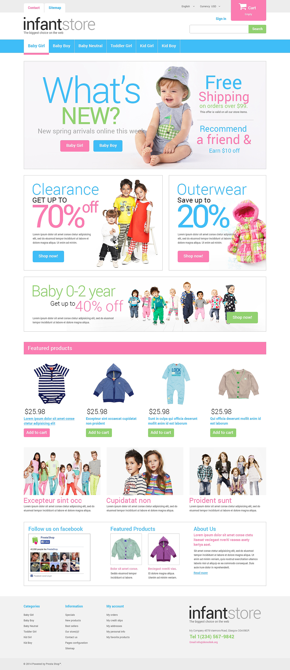Just for Kids Store