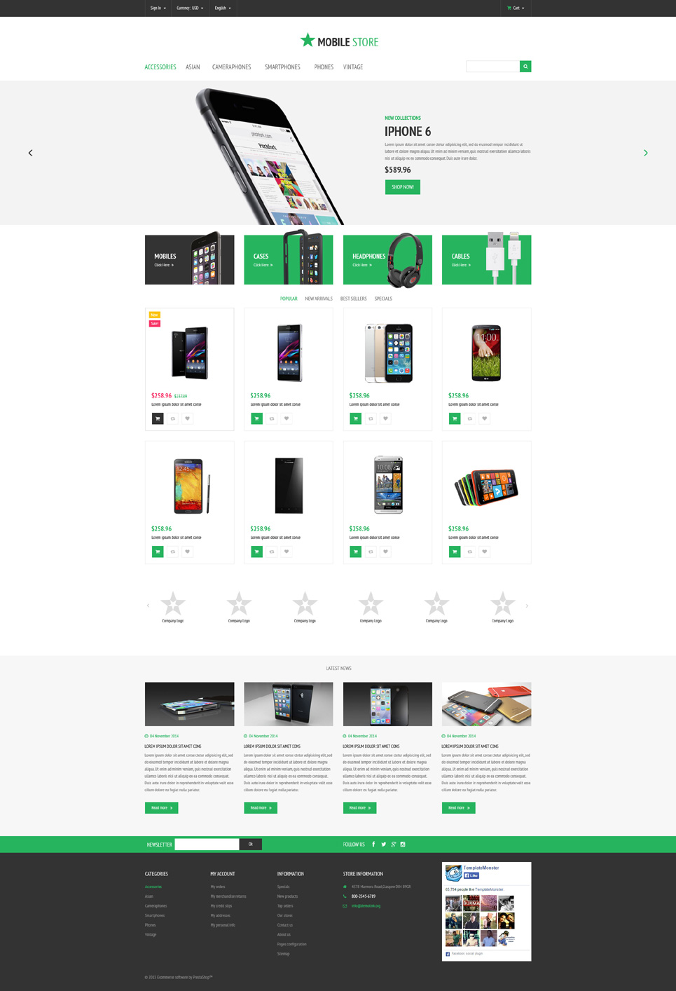 Mobily (ecommerce theme for PrestaShop) Item Picture