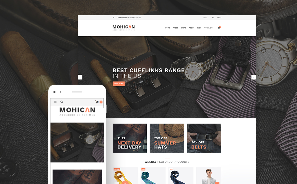 Mohican (template for WooCommerce) Item Picture