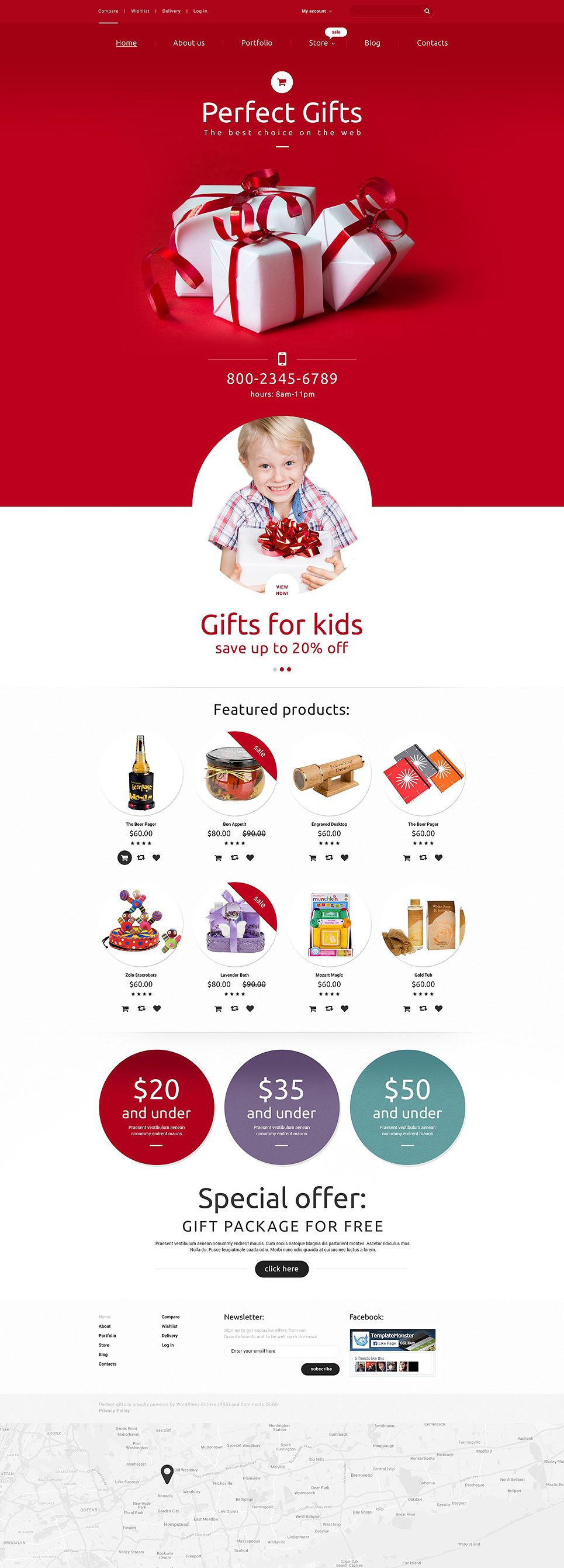 Perfect Gifts (template for WooCommerce) Item Picture