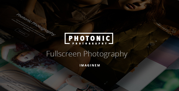 Photonic (dark WordPress theme for photography and photographers) Item Picture