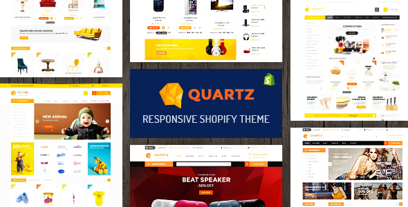 Quartz (jewelry and accessories Shopify theme) Item Picture
