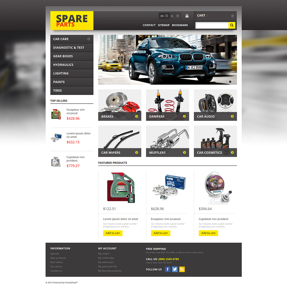 Spares for Any Car