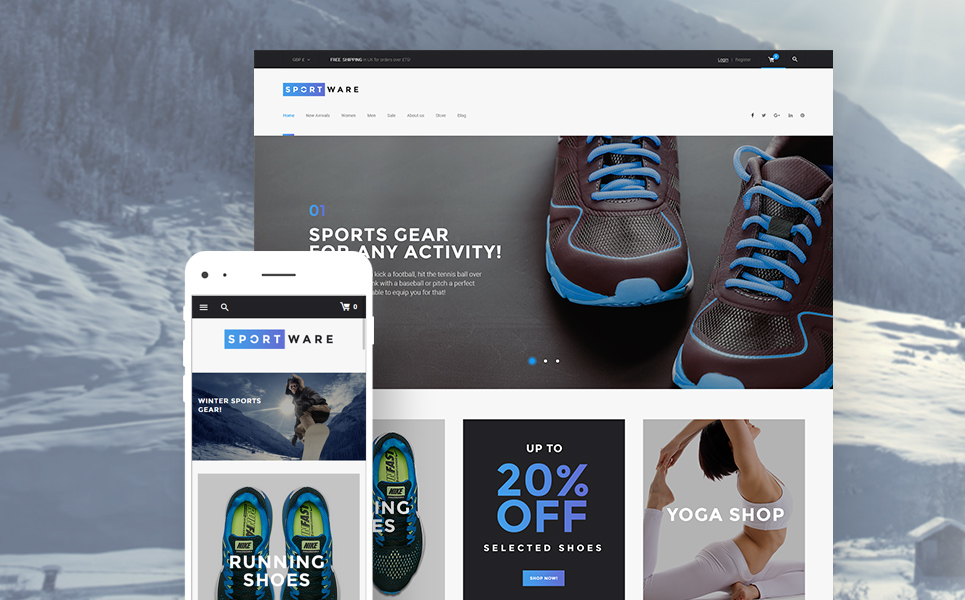 SportWare (template for WooCommerce) Item Picture