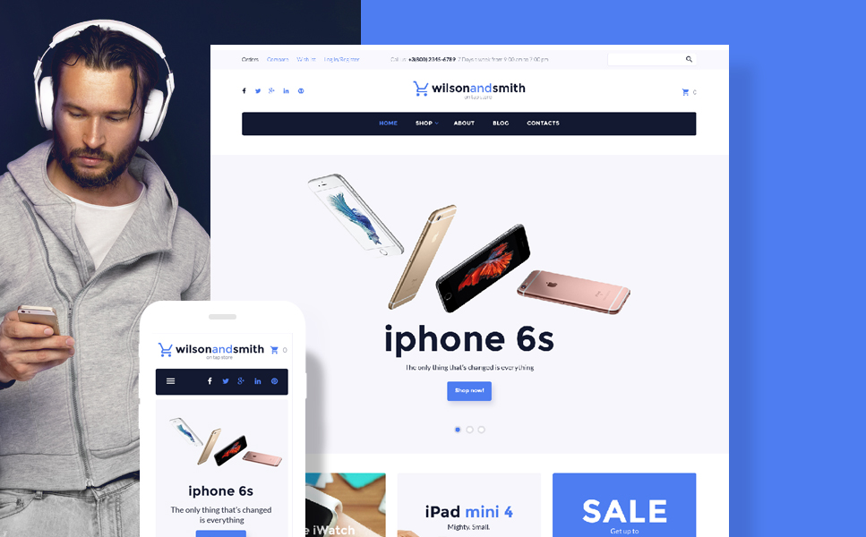 Tech Gadget (template for WooCommerce) Item Picture