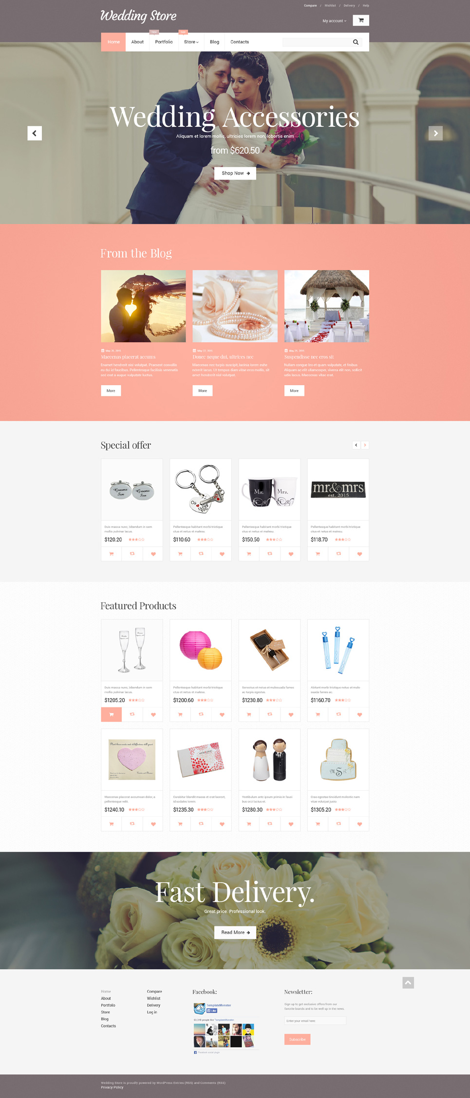 Wedding Store (template for WooCommerce) Item Picture