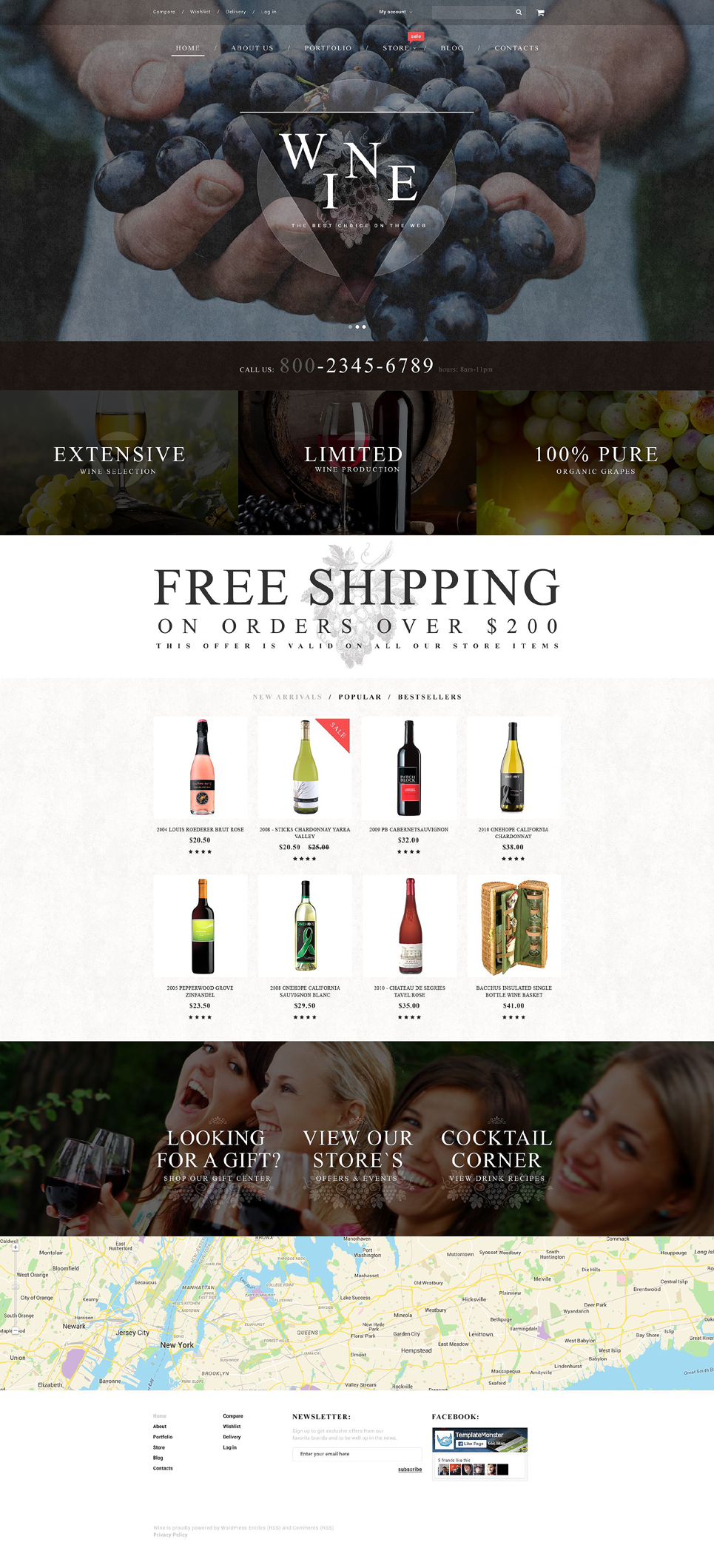 Wine (template for WooCommerce) Item Picture