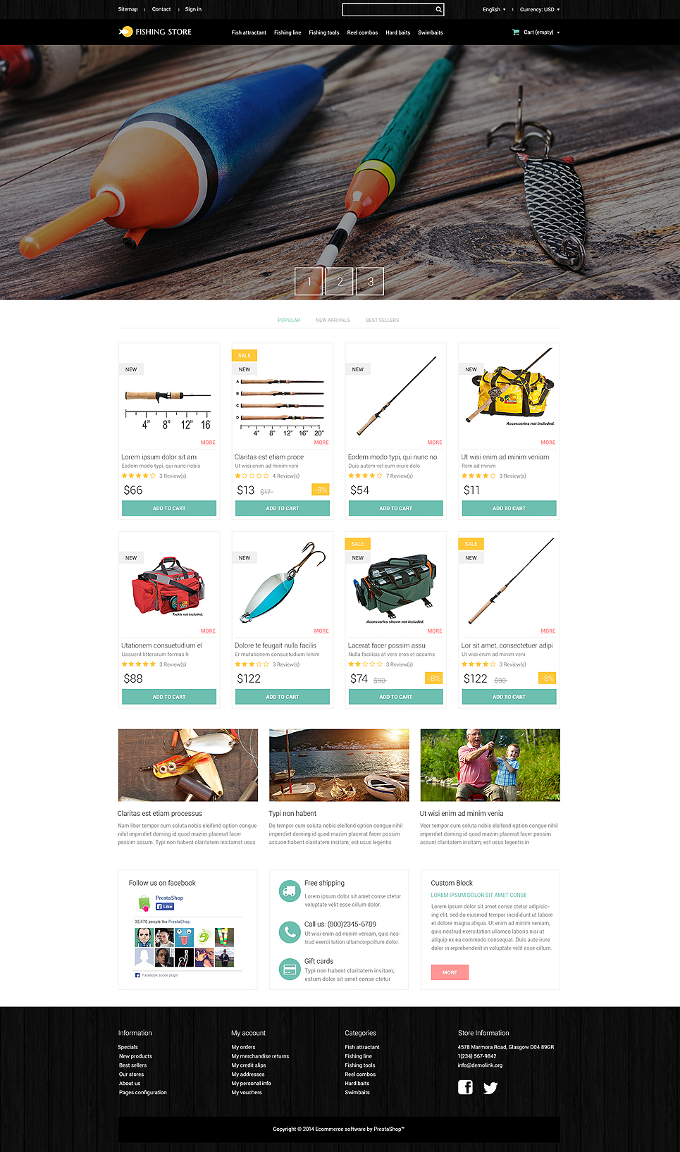Total Pollocks (ecommerce template for PrestaShop ) Item Picture