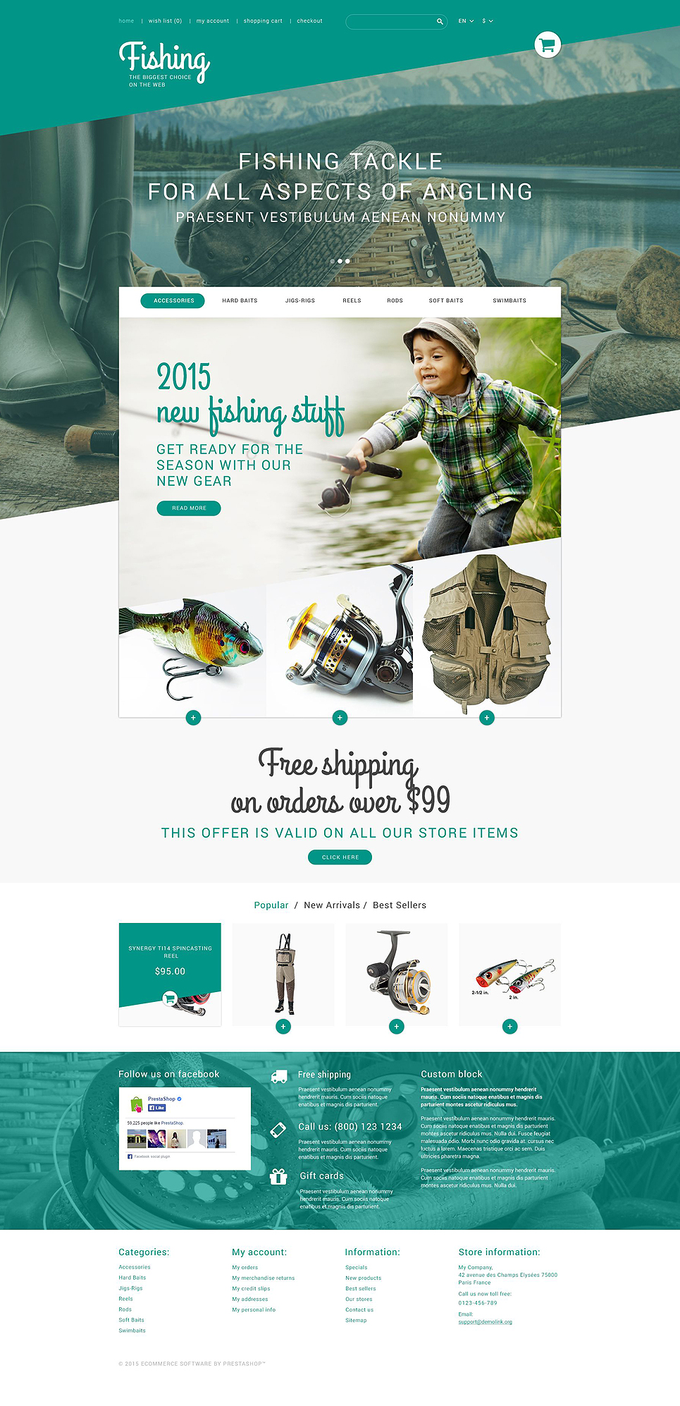 TackleBox (ecommerce template for PrestaShop ) Item Picture