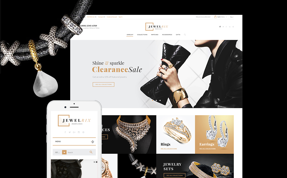 Jewelrix (PrestaShop theme) Item Picture
