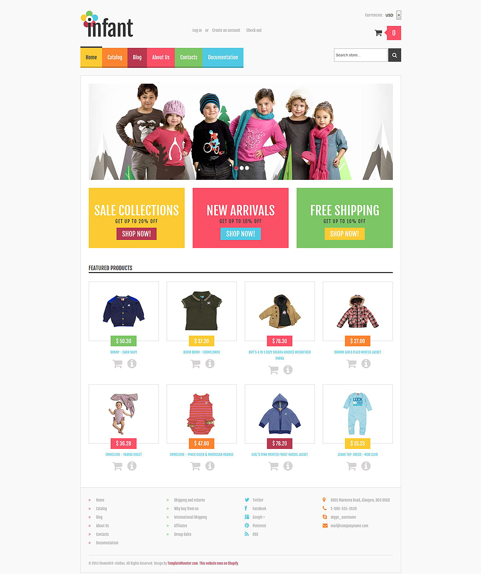 Kidswear (Shopify ecommerce theme) Item Picture