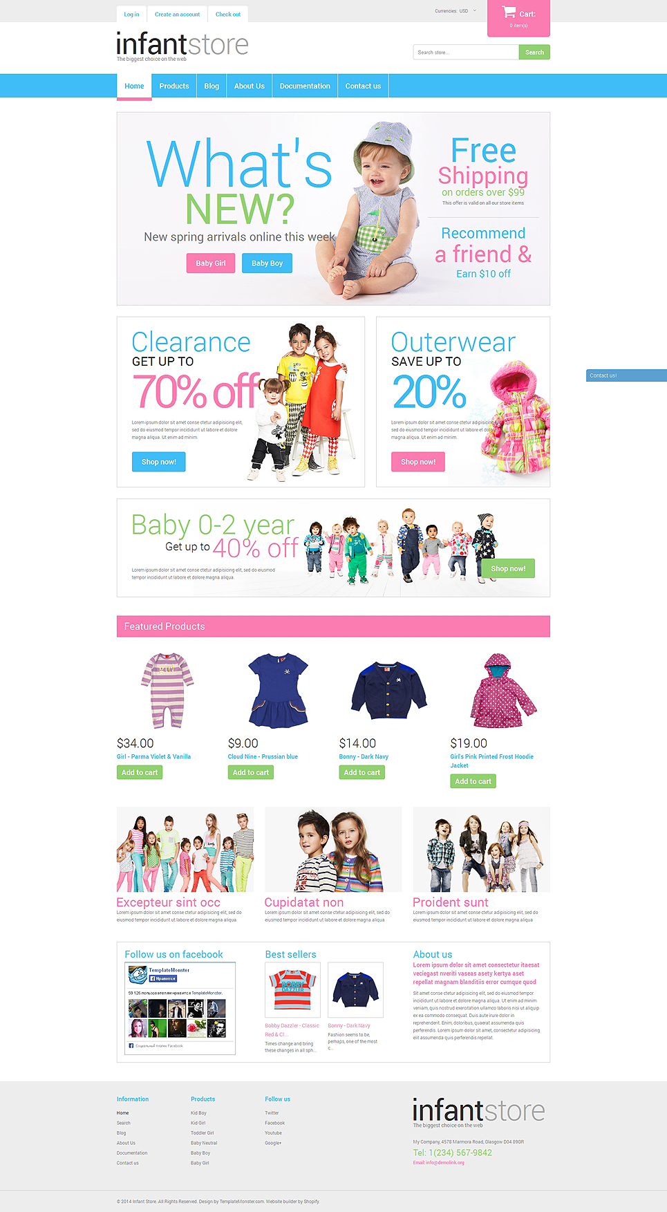Baybee (Shopify ecommerce theme) Item Picture