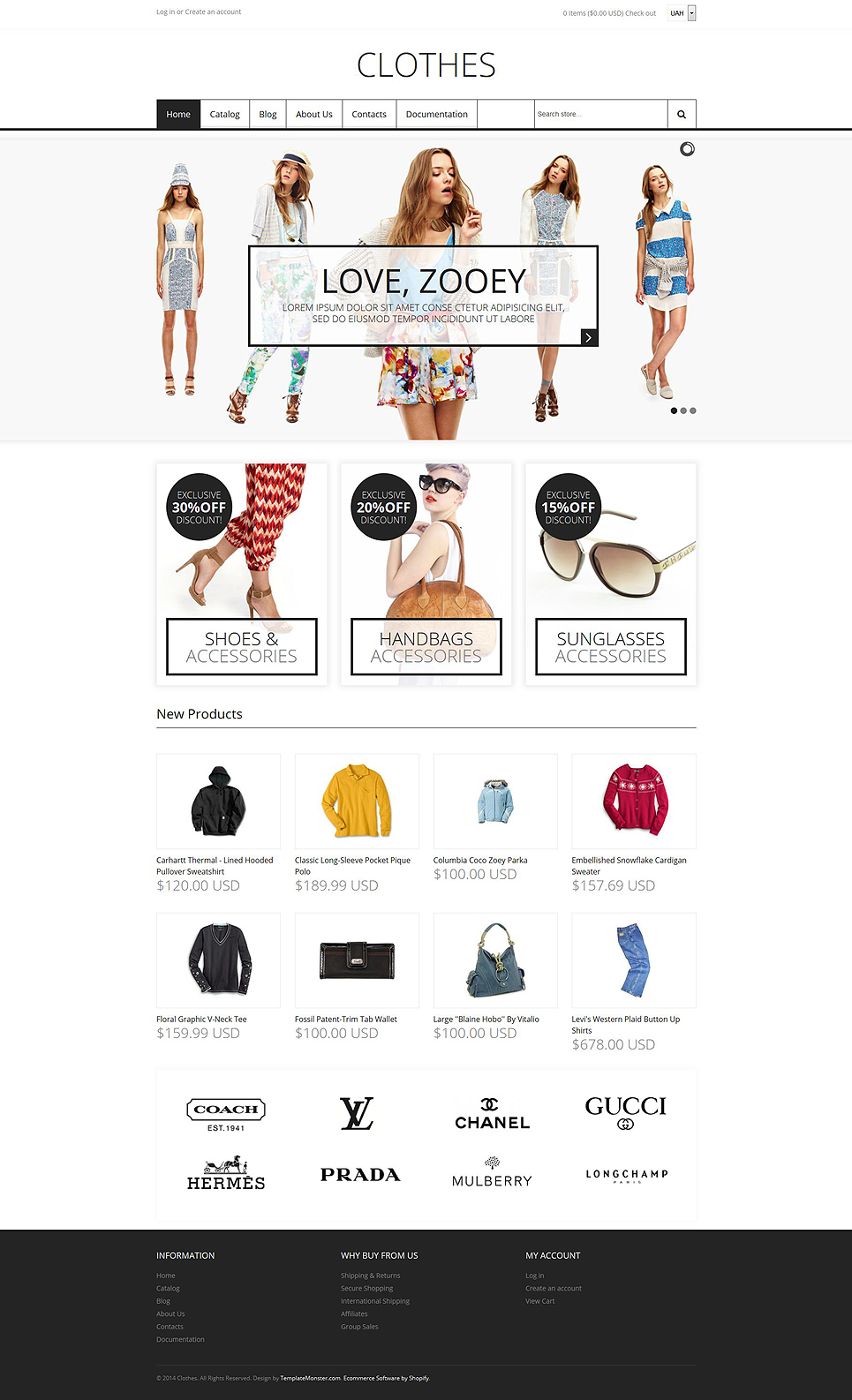 Fashion Store (theme for Shopify) Item Picture