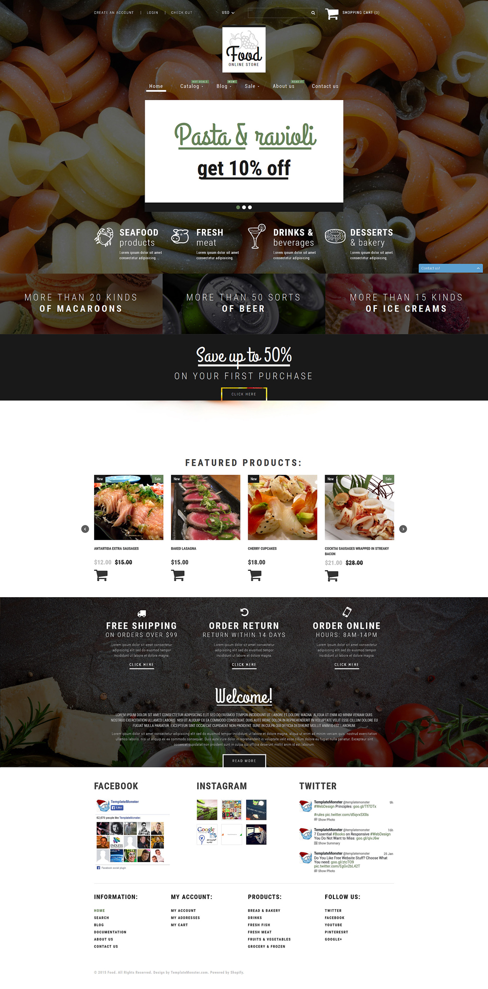DarkMeat (Shopify theme) Item Picture