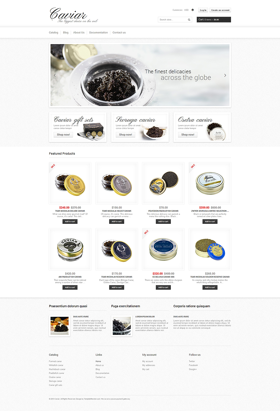 Cacacaviararar (ecommerce Shopify theme) Item Picture