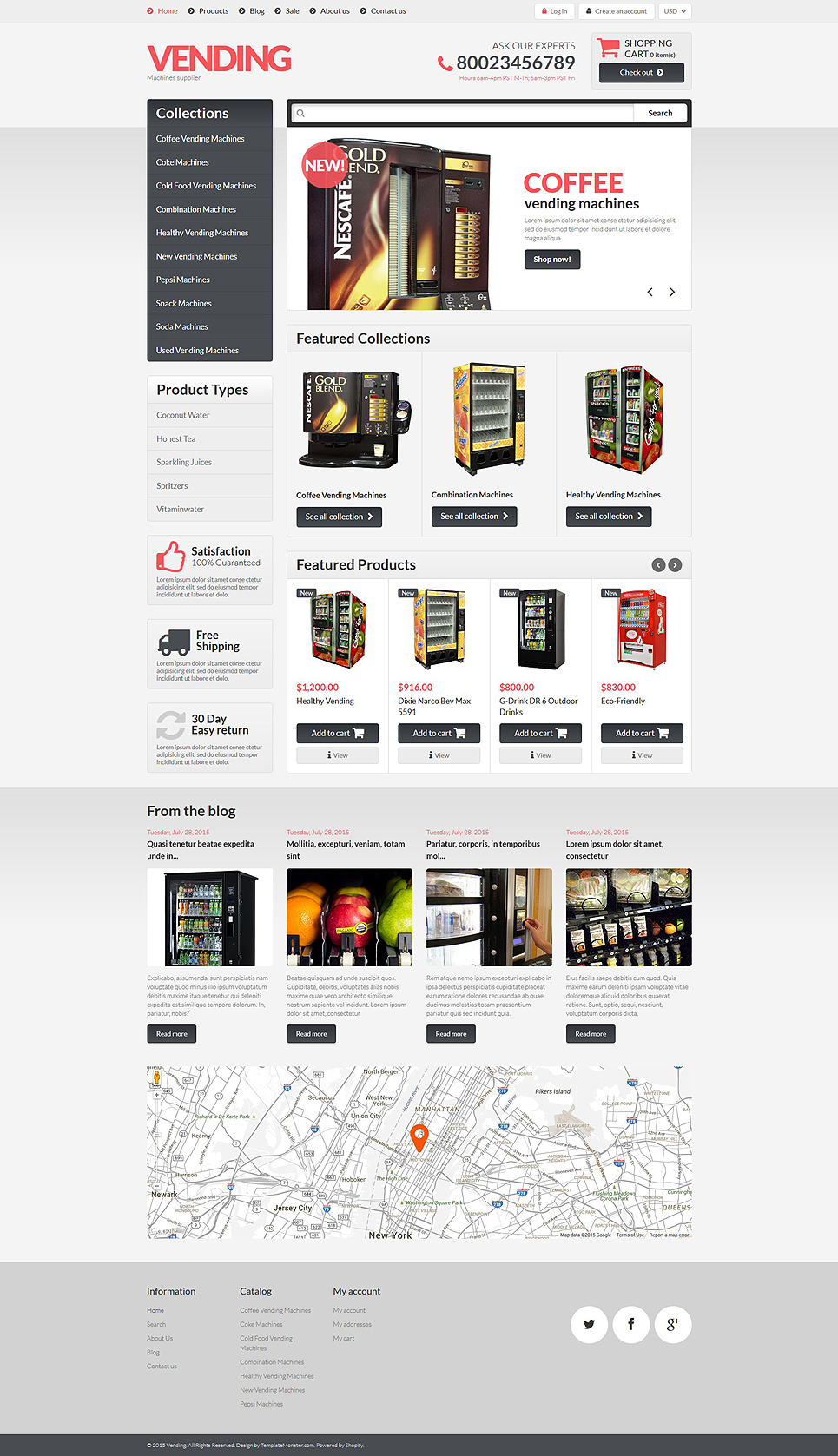 Tend2Vend (ecommerce Shopify theme) Item Picture