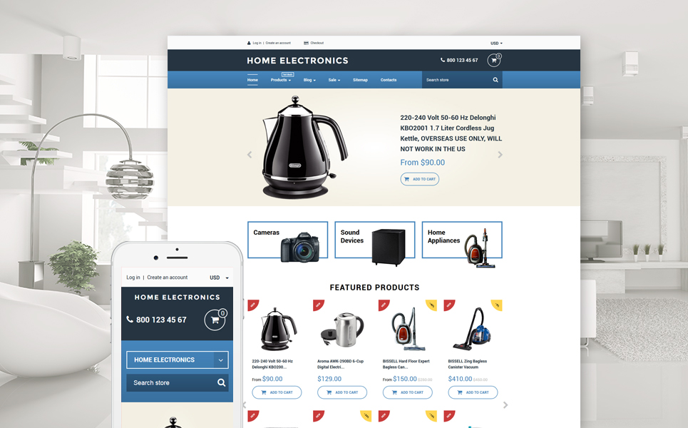 Home Electronics (ecommerce theme) Item Picture