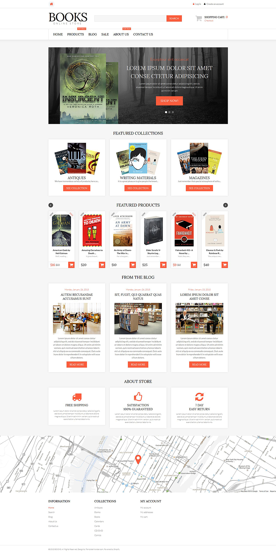 Literature Lovers Spot (Shopify theme) Item Picture