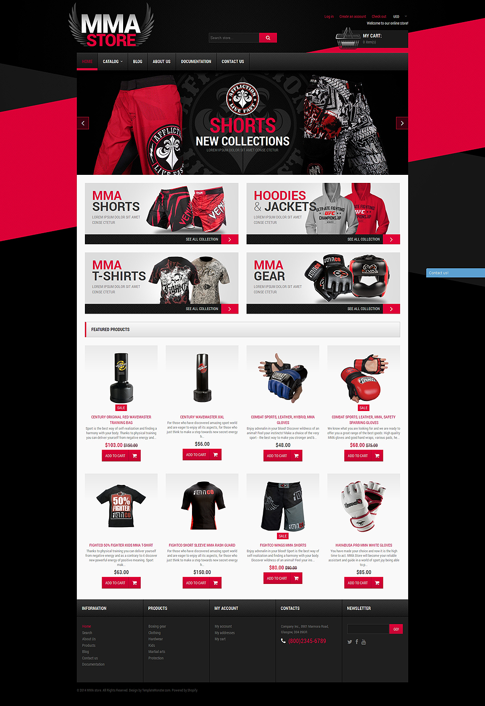 The Destroyer (Shopify ecommerce theme) Item Picture