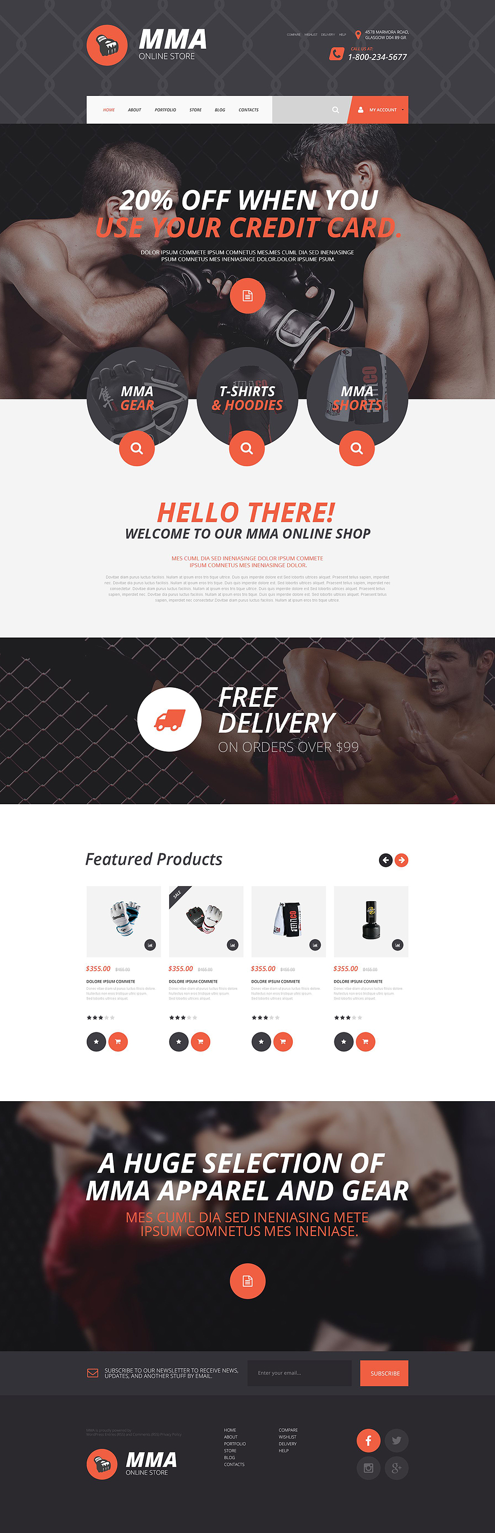 MMA Magic (Shopify ecommerce theme) Item Picture