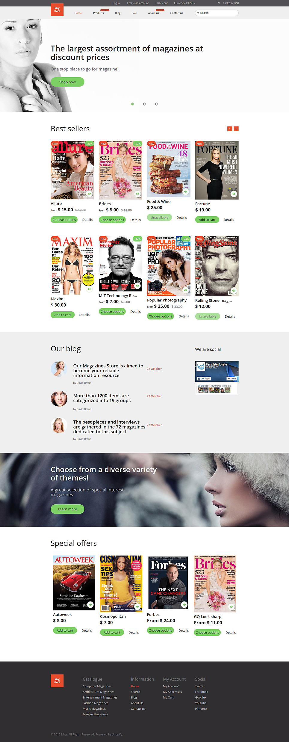 Read Em Up (ecommerce Shopify theme) Item Picture