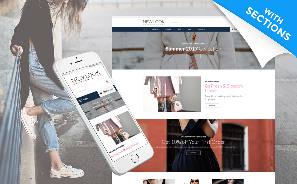 Multifly (ecommerce Shopify theme) Item Picture