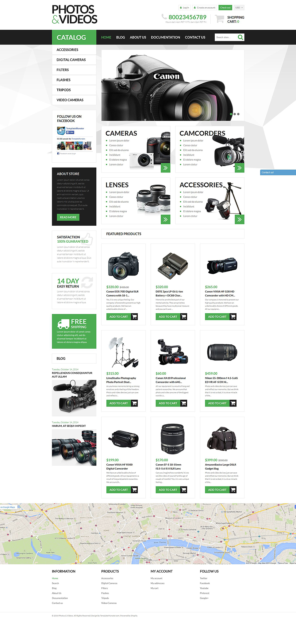 Photo Video Technologies (Shopify theme) Item Picture