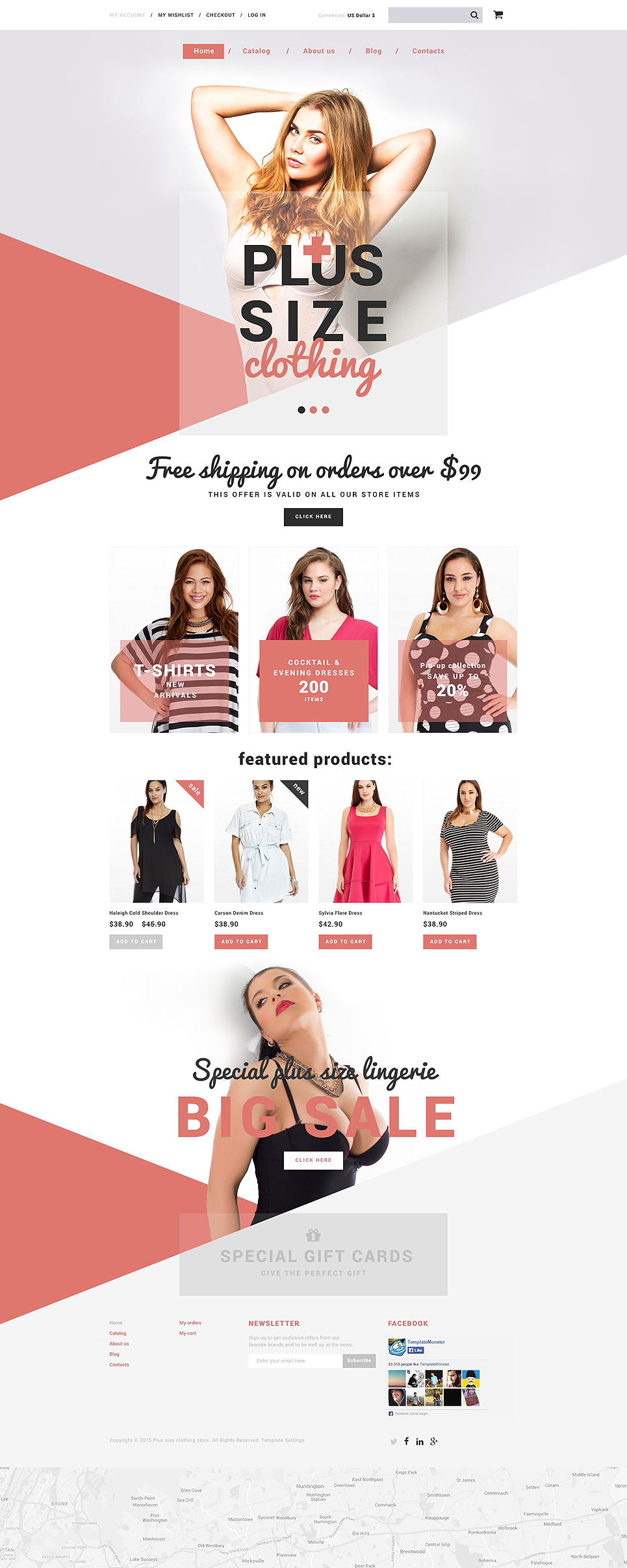 Plus Size Clothing Store (Shopify theme) Item Picture