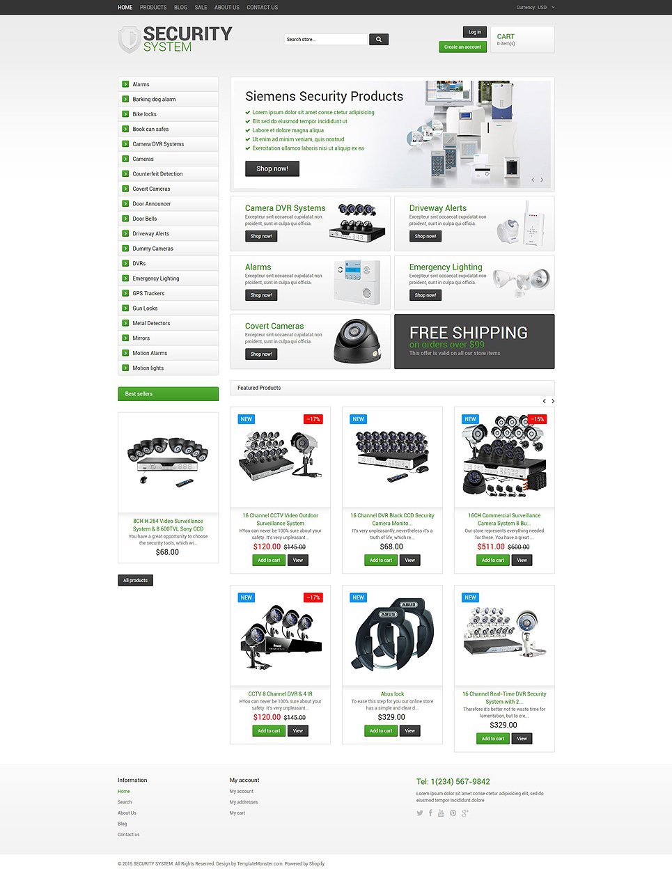 Security (Shopify theme) Item Picture